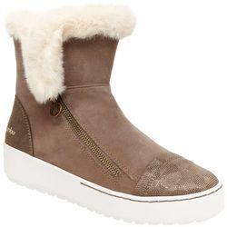 Jambu Womens Erica Faux Fur Ankle Boots