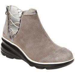 Jambu Womens Naomi Wedge Ankle Boots