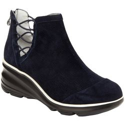 Jambu Womens Naomi Wedge Ankle Boots