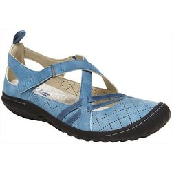 JBU Womens Nicole Criss Cross Shoes