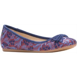 Hush Puppies Womens Heather Bow Flats