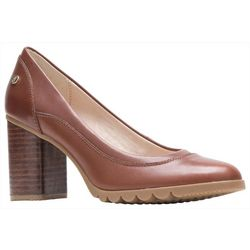 Hush Puppies Womens Spaniel Leather Pump