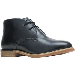 Hush Puppies Womens Leather Bailey Chukka Boots