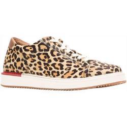 Womens Sabine Leopard Sneakers