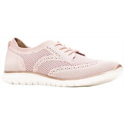 Hush Puppies Womens Tricia Wingtip Knit Shoes