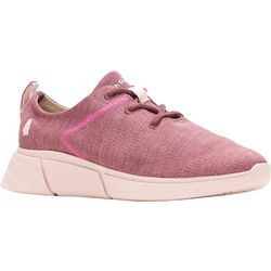Hush Puppies Womens Makenna Lace Up Sneakers