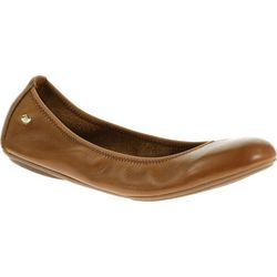 Womens Chaste Leather Ballet Flats