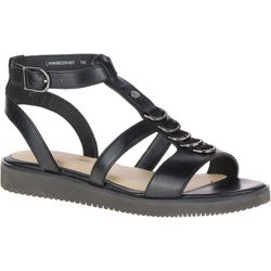 Hush Puppies Womens Briard Ring T-Strap Sandals