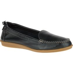 Hush Puppies Womens Endless Wink Leather Moccasins