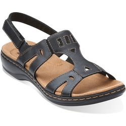 Clarks Womens Leisa Annual Leather Sandals