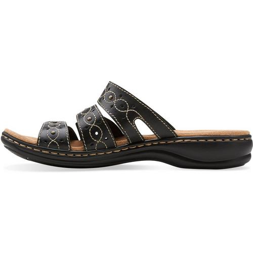 5358a409dc547 Clarks Womens Leisa Cacti Q Slide Sandals
