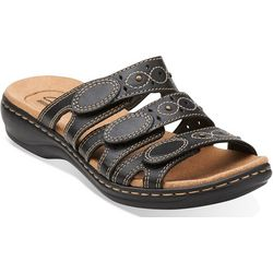 Clarks Womens Leisa Cacti Q Slide Sandals