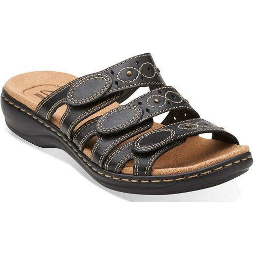 af67cb6ff5a Clarks Womens Leisa Cacti Q Slide Sandals