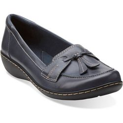 Womens Ashland Bubble Leather Loafer