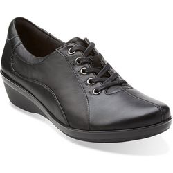 Clarks Womens Everlay Elma Lace Up Oxfords