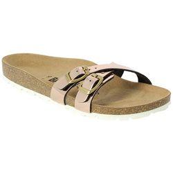 Bayton Womens Chia Buckle Slide Sandals