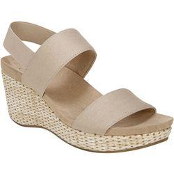 LifeStride Womens Delta Wedge Sandals