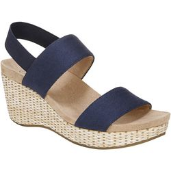 LifeStride Womens Delta Wedge Sandals