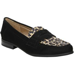 LifeStride Womens Madison Leopard Loafers