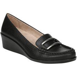 LifeStride Womens Lennox Wedge Loafers