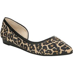 LifeStride Womens Quincy Leopard Flats