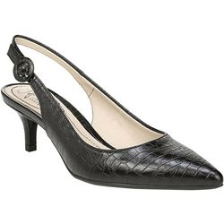 LifeStride Womens Pearla Slingback Pumps