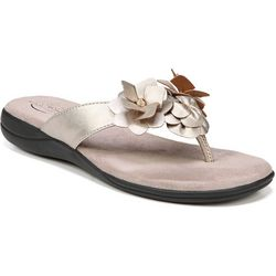 LifeStride Womens Equal Floral Sandals
