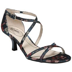 LifeStride Womens Flaunt Printed Dress Sandals