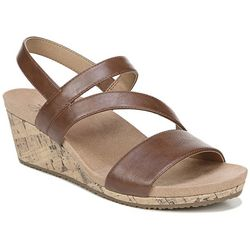 LifeStride Womens Milly Wedge Sandals