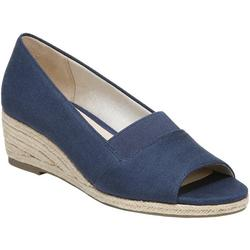 Womens Sola Peep Toe Wedge Shoes