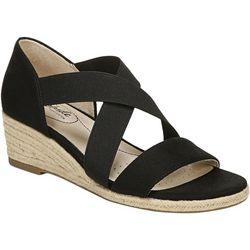 LifeStride Womens Siestra Str Wedge Sandals