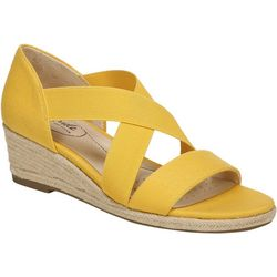 LifeStride Womens Siestra Str Wedge Sandals