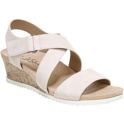 LifeStride Womens Sincere Wedge Sandals