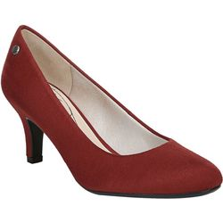LifeStride Womens Parigi Fabric Heels