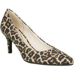 LifeStride Womens Sevyn Leopard Heels