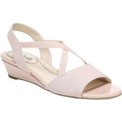 LifeStride Womens Yolo 2 Wedge Sandals