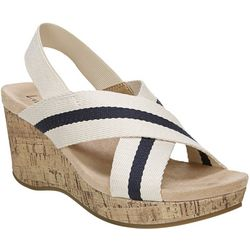 LifeStride Womens Dream Big Wedge Sandals