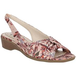 LifeStride Womens Mimosa 2 Floral Slingback Sandals