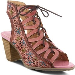 Spring Step Womens L'artiste Laure Ghillie Sandals