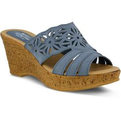 Dora Slide Wedge Sandals