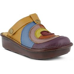Spring Step Womens Lollipop Colorful Comfort Clogs