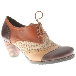 Spring Step Womens L'Artiste Bardot Oxford Pumps