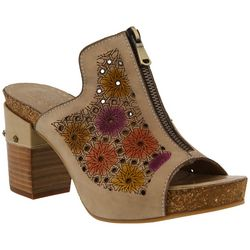 Spring Step Womens L'Artiste Zippia Slide Sandals