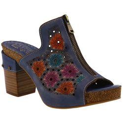 Spring Step Womens L'Artiste Zippia Slide Sandals