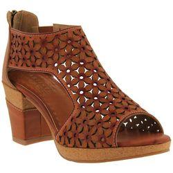Spring Step Womens L'Artiste Hibiskus Sandals