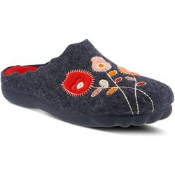 Spring Step Womens Flexus Wildflower Wool Slippers