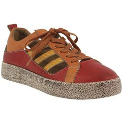 Spring Step Womens L'Artiste Porscha Lace Up Shoes
