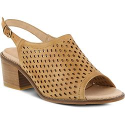 Spring Step Womens Lana Laser Cutout Sandals
