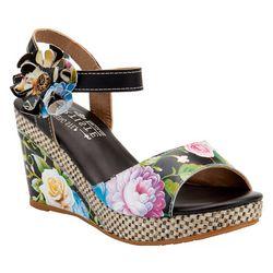 Spring Footwear Womens Roesia Wedge Sandals