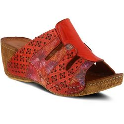 Spring Step Womens Onaona Wedge Slide Sandal